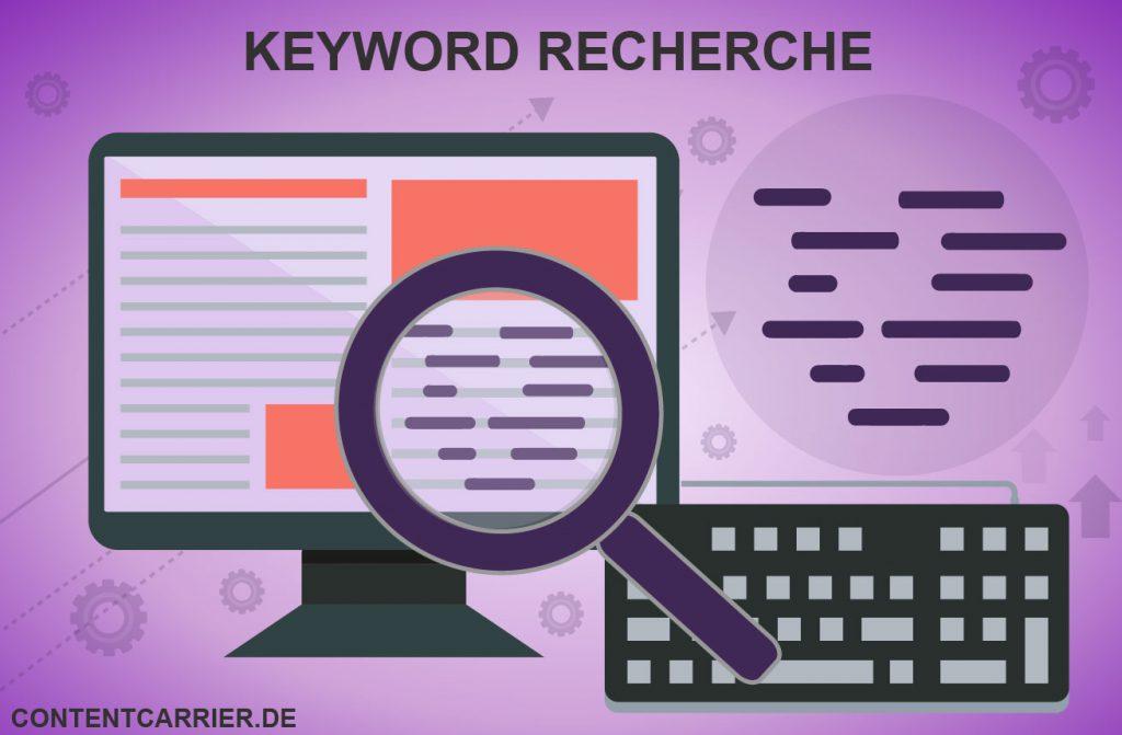 Suchmaschinenoptimierung beginnt immer mit einer Keyword-Recherche.